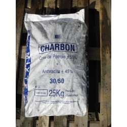 Charbon Mélange - 30/50 - 25 kg