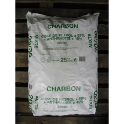 Charbon M50 - 30/50 - 25 kg