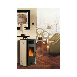 POELE PELLET MARGHERITA AIR 8.5 Kw LAMINOX
