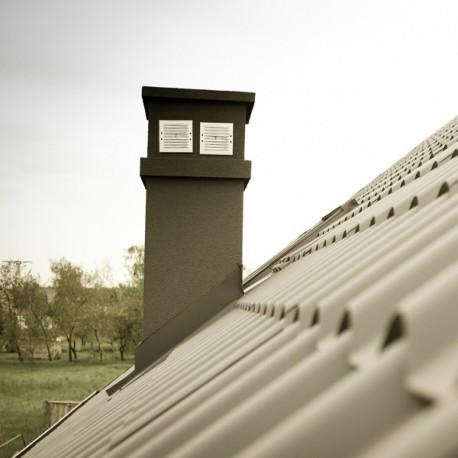 Ramonage toit grande echelle logement récent
